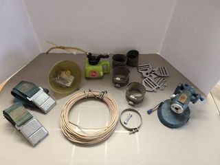 Clamps,Vice,1965 Seat Belts, Wire, Oiler etc.