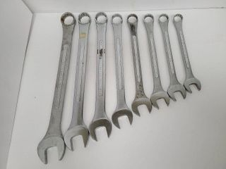 8 Lectrolite Forged Alloy Wrenches