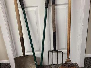 4 Garden Tools