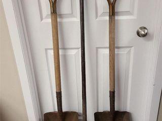 2 Shovels & Steel Bar