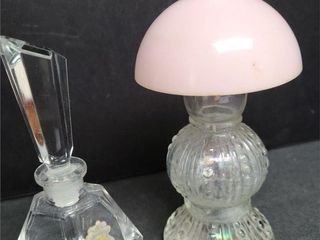 Two Vintage Perfume Bottles
