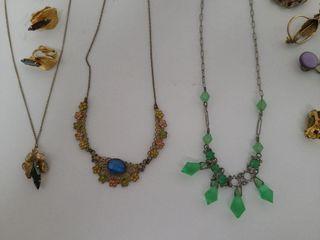 Vintage Jewelry - Clip On Earrings
