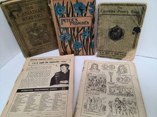 Misc. Antique Books & Booklettes