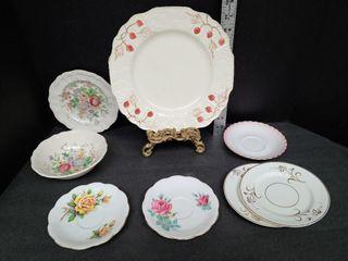 8 Pieces Royal Albert, Dalton & Myott