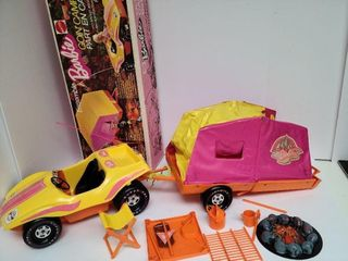 1973 Barbie Going Camping