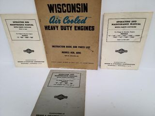 Air Cooled Heavy Duty Engine & 3 Other Manuals