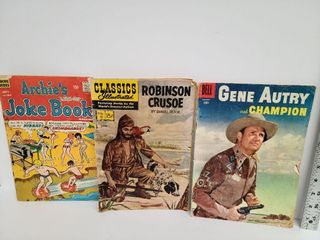 Gene Autry, Robinson Crusoe & Archie Comics