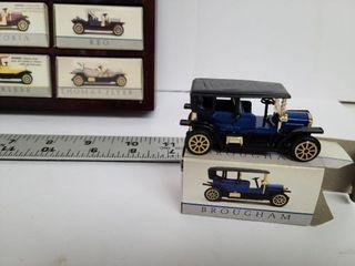 New Die Cast Model T Cars 1 Larger, 6 Smaller