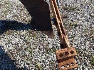 Plow for a lawn tractor