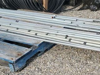 SKID OF 1  METAl PIPE   UP TO 10