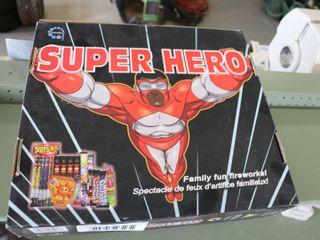 SUPER HERO FIREWORKS SET