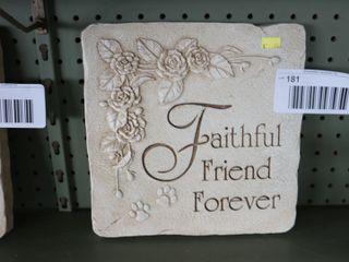 FAITHFUl FRIEND PlAQUE   10