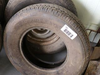 2   225 75R15 TIRES