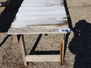 22  X 8  WOOD PlANT TABlE
