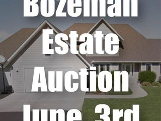 Bozeman Estate Auction