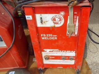 Forney FS235 amp welder with leads  Vin 7HE 600  A