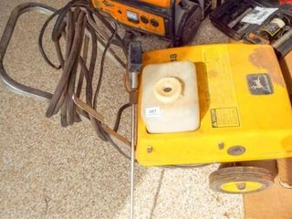 John Deere A18 electric power washer  Runs