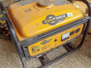 Pro Force Powermate generator  3125 watts 5 5 OHV
