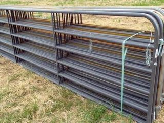 14 16  Utility gates  6 bar 4 painted