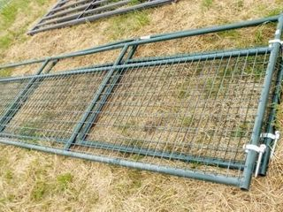 2 14  Wire filled gate  bent top bar