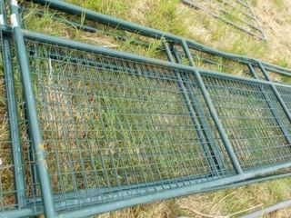 4 16  Wire filled gates  top bars bent