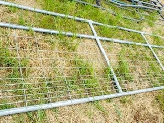 1 14 Wired filled gate  no paint  bent top bar