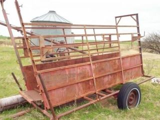 12  cattle protable loading chute