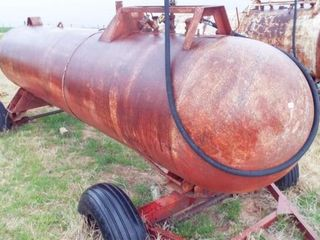 Anhydrous 1000 gal trailer