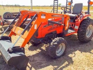2005 Agco ST28A MFWA  Sl44 loader  5  bucket