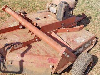 Rhino 60 mower  pull behind
