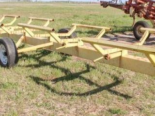34  Hay Trailer   5 bales