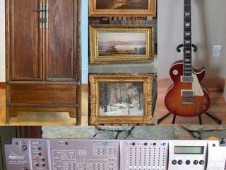 Recording Equip., Instruments, High-End Artwork & Furnishings (1295