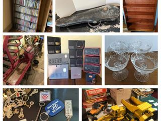 VINTAGE & MORE ONLINE ESTATE AUCTION. AUCTION ENDS SUNDAY, MAY 9TH AT 8:00PM