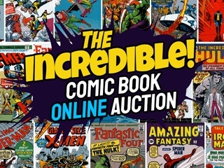 Online Only: The Incredible Comic Book Auction