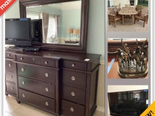 Houston Moving Online Auction - Zinnia Drive