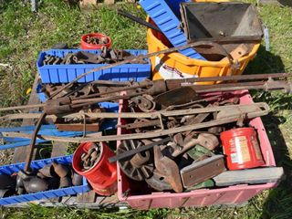 35 WINDMILLS, PARTS, TRACTORS & TOOLS