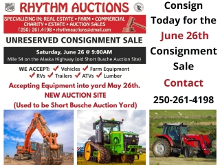Consignment Yard Auction
