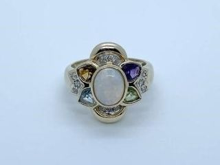 Online Estate Jewelry Auction ~ Dixie Burgess Hill Estate