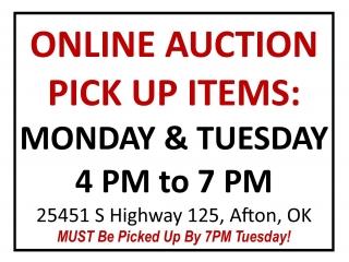 Pick Up Afton/Monkey Island Grand Lake Online Purchases!