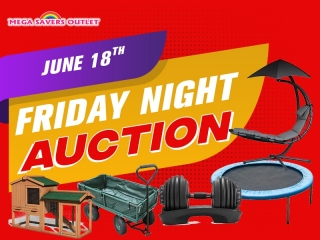 AIR CONDITIONERS , SHOES & SUMMER FUN FRIDAY NIGHT SALE