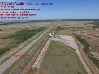 Commercial Real Estate Auction for Jim Buhr and AGS Sales Ltd.