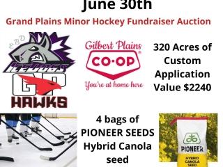 Grand Plains Hockey Fundraiser