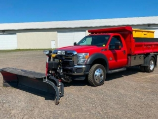 2016 Ford F-550 4WD Plow Truck