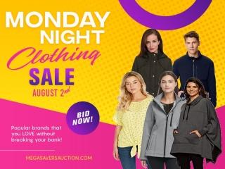 MONDAY NIGHT CLOTHING AUG 2 AUCTION