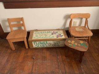 8/5 Vintage Furniture, Household, Collectibles, Yard/Shop