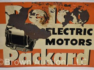 Advertising Signs & Coolers Auction