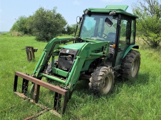 ONLINE ONLY AUCTION Big Cabin, Hay Equipment