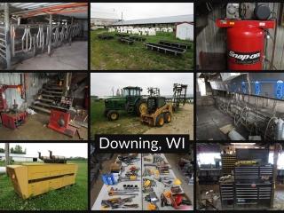 Farming Equipment, Calf Hutches, and More