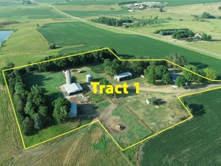 OCTOBER 30, 2021 @10:30 A.M.�LIVE FARMLAND, ACREAGE & PASTURELAND AUCTION TO BE SOLD IN 6 SEPARATE TRACTS�LOCATED IN CENTENNIAL TWP, LYON COUNTY, IA