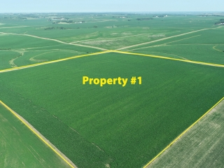OCTOBER 2, 2021 @10:30 A.M.�LIVE ONSITE AUCTION OF FARMLAND, AN ACREAGE & PASTURELAND/RECREATIONAL PROPERTY LOCATED IN FAIRVIEW TWP & EDEN TWP, LINCOLN COUNTY, SD